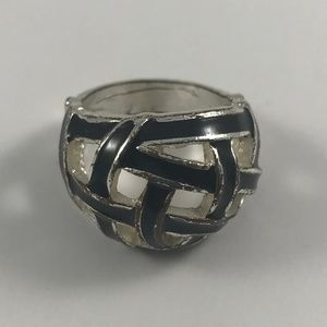 Vintage Jewelry - Vintage Silver Tone Ring,  Size 6.5